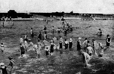 Dahme historisches Strandbild