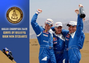 Dirk von Zitzewitz: Sieger der Rallye Dakar 2009