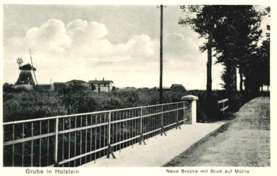 Hindenburgbrücke Grube