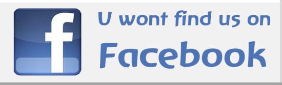 Nein, wir haben keine Facebook-Seite