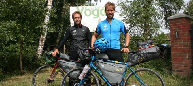 Große Fahrradtour an der Ostsee