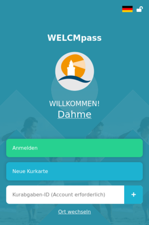 WELCMpass Dahme