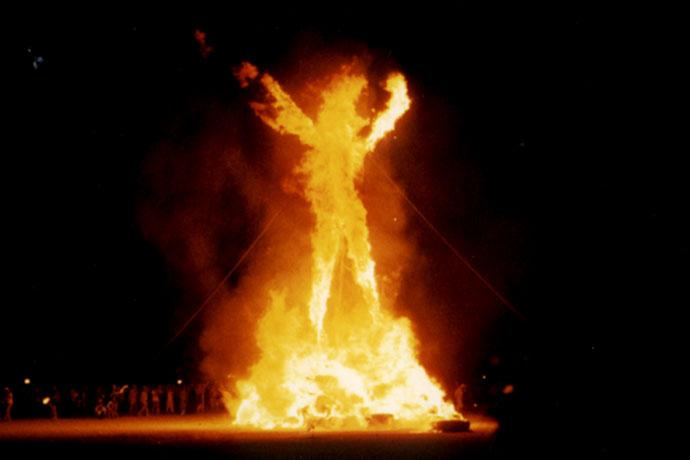 Burning Man Festival Ostsee